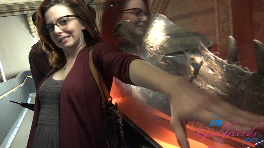 You visit the Natural History Museum in London with Emma